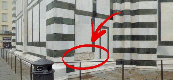CURIOSITÀ FIORENTINE: IL BASSORILIEVO DELLA MISTERIOSA BATTAGLIA NAVALE
