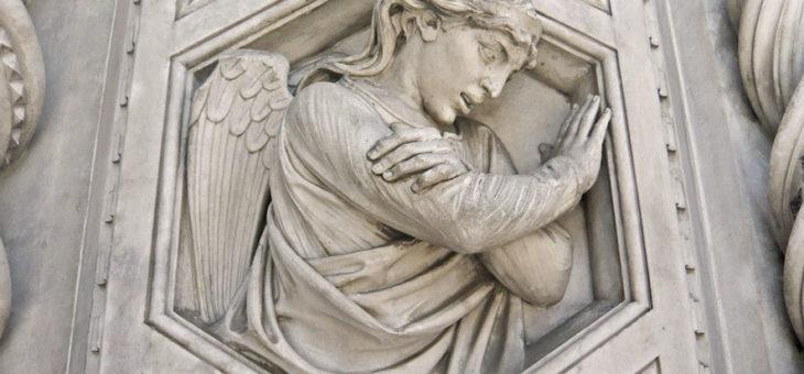 CURIOSITÀ FIORENTINE: L'ANGELO IRRIVERENTE
